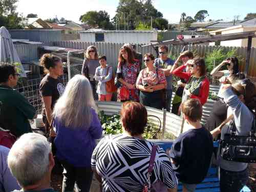 Sunny Side Up tours Erica's in Lockridge