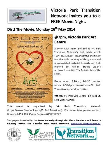 Vic Park Dirt screening
