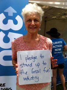 Rally speaker Dr Fiona Stanley