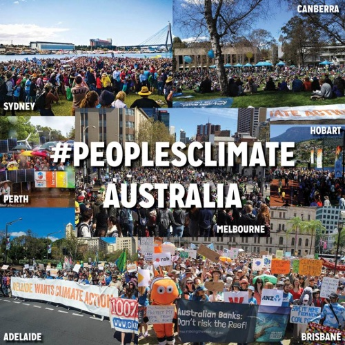 Marches around Australia