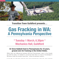 Gas Fracking in WA: A Pennsylvania Perspective