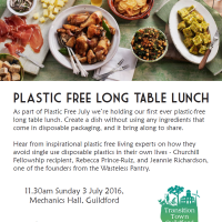 Plastic Free July Long-Table Lunch