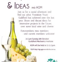 TTG Wine, Cheese & Ideas, plus AGM